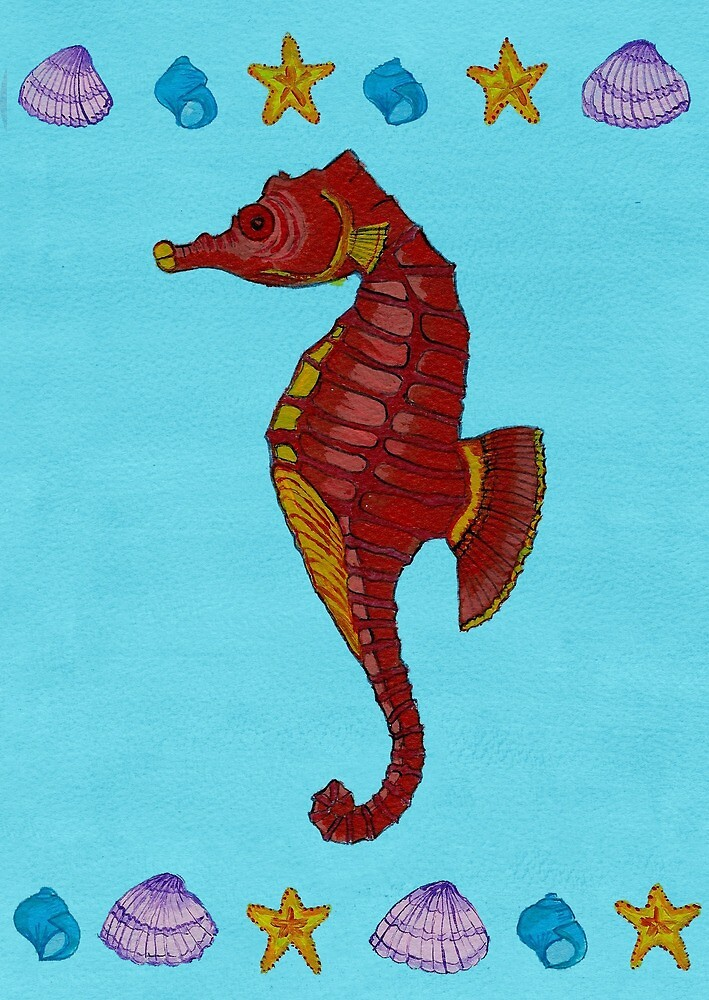 sea horse strikes again by ConnyM66