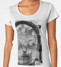 Android Beauty Queen, Science Fiction  Women's Premium T-Shirt