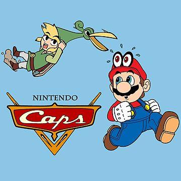 Nintendo Caps by FraStiller