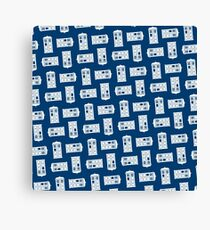 Doctor Who TARDIS Pattern Canvas Print
