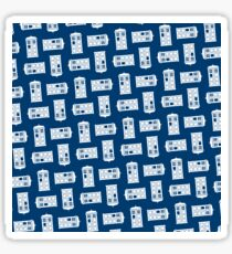 Doctor Who TARDIS Pattern Sticker