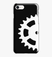 Cog and Roll (white) iPhone Case/Skin