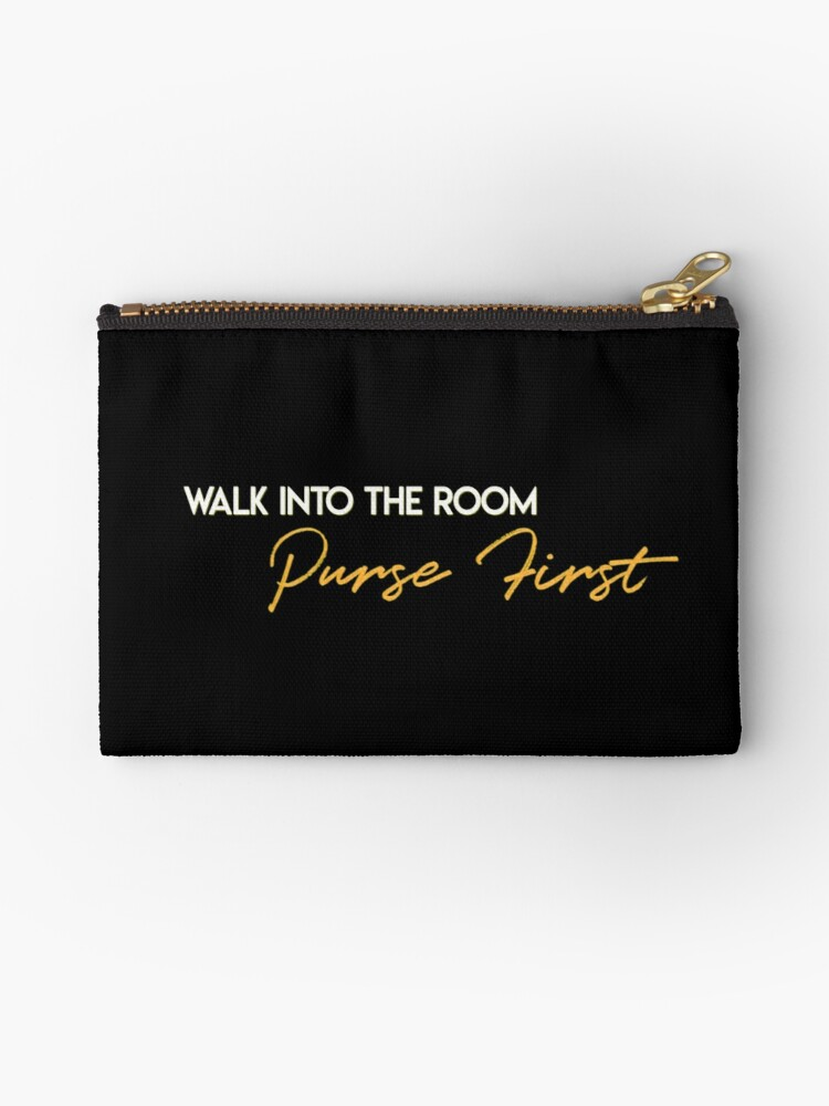 Walk into the room, purse first by artmoonist