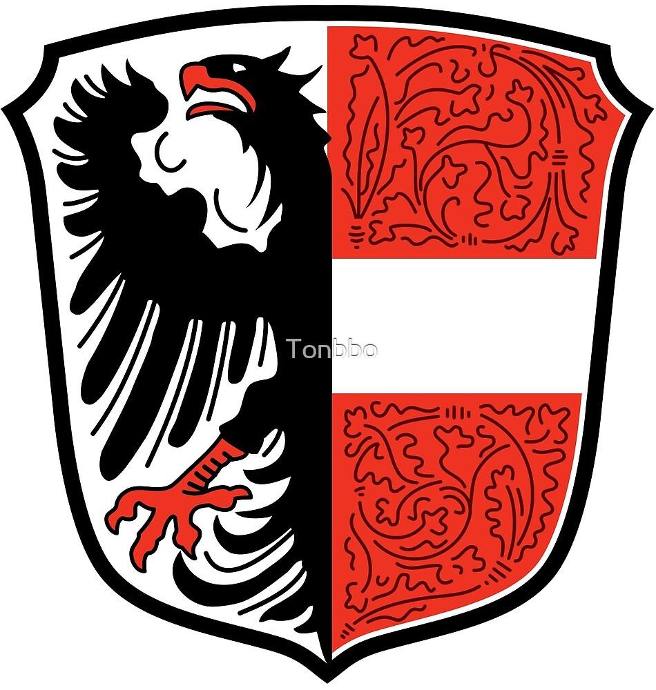 Garmisch-Partenkirchen Coat of Arms, Germany by Tonbbo