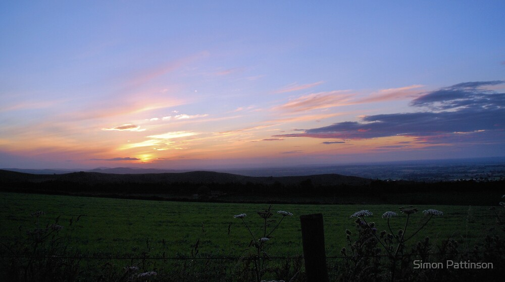 Shropshire Sunset by Simon Pattinson