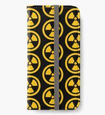 Yellow Radioactive iPhone Wallet/Case/Skin