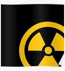 Yellow Radioactive Poster