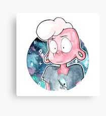 Pink Lars in Space Canvas Print