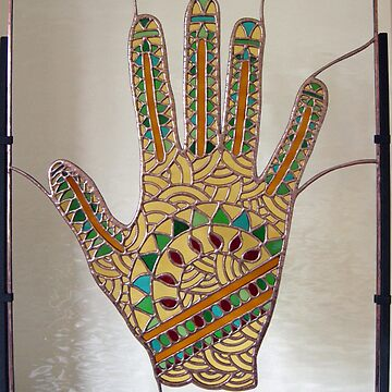 Mehndi Hand (indoors photograph) by neilsglass