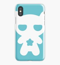 Lazy Bear Baby Blue iPhone Case/Skin