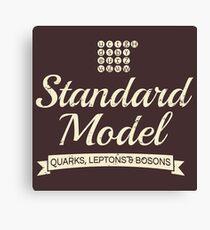 The Standard Model Canvas Print