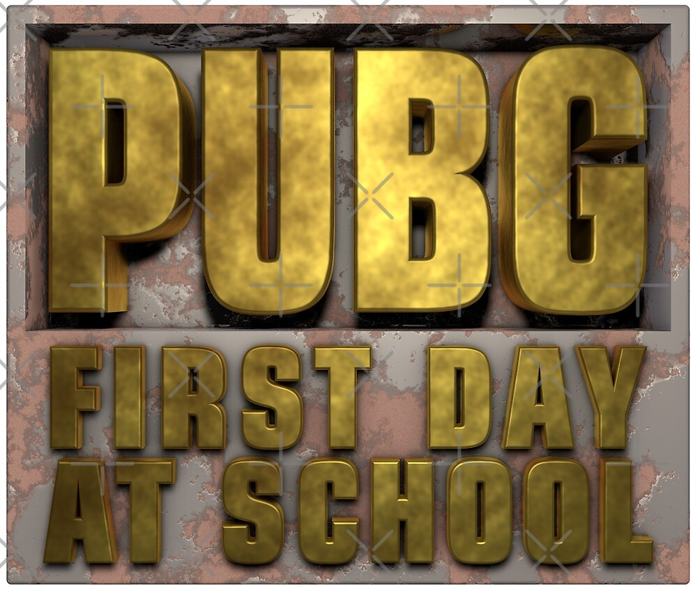 PUBG Playerunknowns Battlegrounds 1 Day at School by Delpieroo
