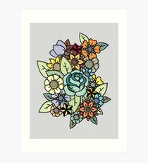 Alot Flowers  Art Print