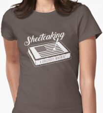 Sheetcaking a grass roots movement Women's Fitted T-Shirt