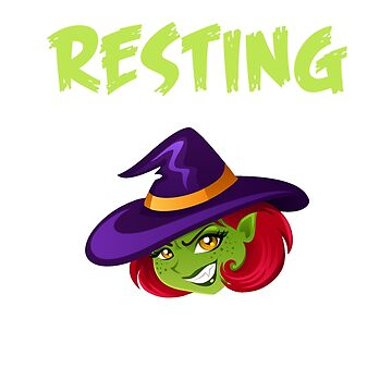 Resting Witch Face Shirt by pastaneruda