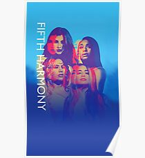 Fifth Harmony Official PSA World Tour Merch #2 Poster