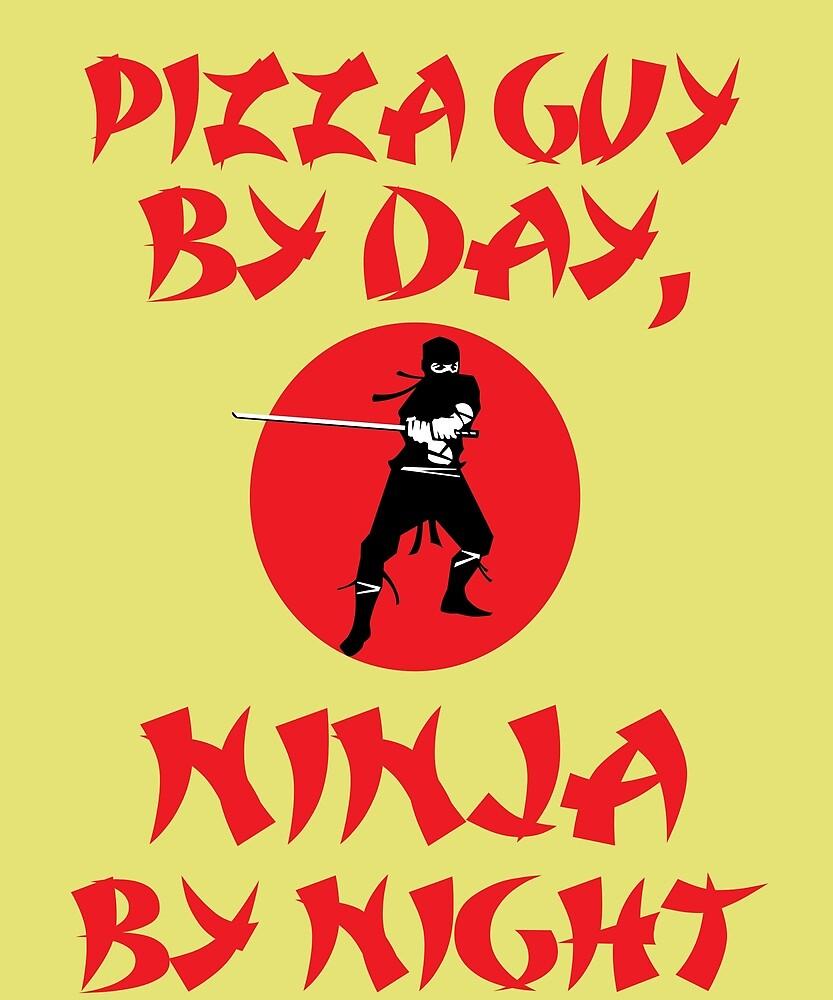 Pizza Guy Day Ninja Night by AlwaysAwesome