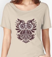 T-shirt with curl Women's Relaxed Fit T-Shirt