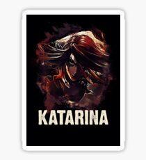 League of Legends KATARINA Sticker