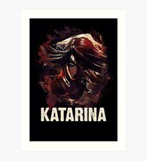 League of Legends KATARINA Art Print