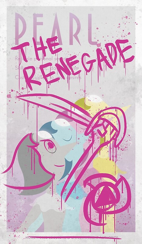 A defaced Art Deco-style poster of Pearl from Steven Universe. • Buy this artwork on stationery and wall prints.