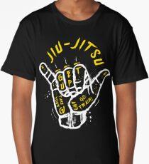 Jiu-jitsu. Go train! 2 Long T-Shirt