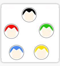 voltron legendary defender helmets Sticker