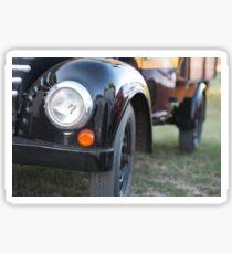 Old Truck Headlights Closeup Sticker