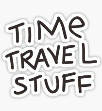 Time Travel Stuff Sticker