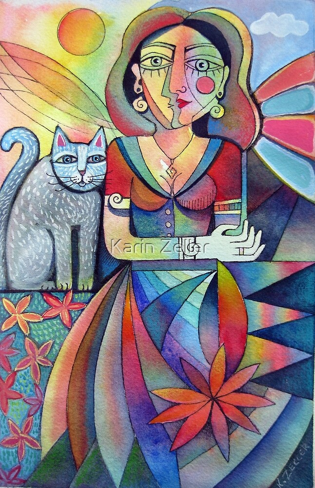 Picasso's Girlfriend 1 by Karin Zeller