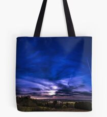 Panorama hutte Tote Bag