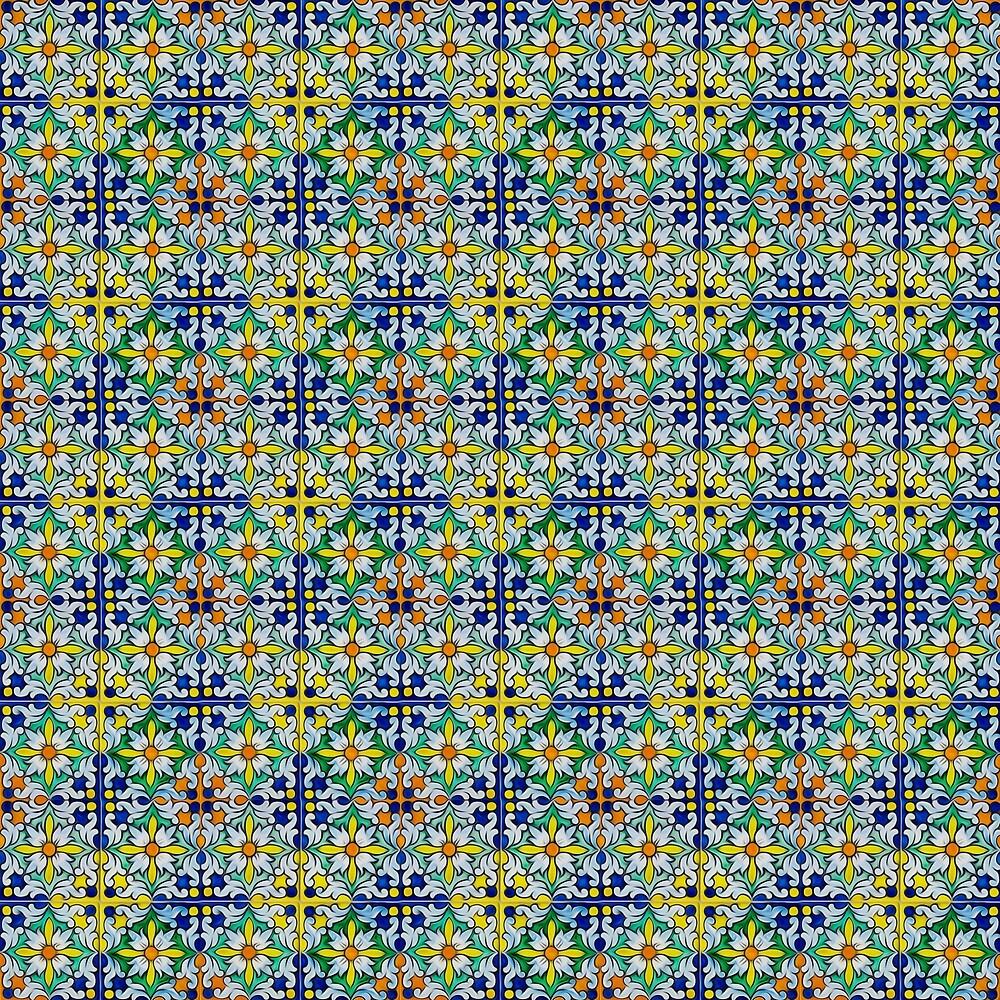 Spanish azulejos by Andrea Mazzocchetti
