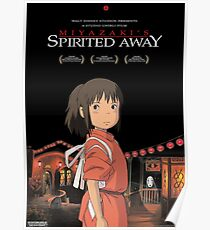 Spirited away Poster Poster