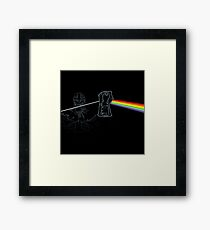 Dark Side of the Stones Framed Print