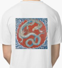 HOKUSAI, DRAGON, Katsushika Hokusai, Japan, Japanese, ceiling of a festival float, Classic T-Shirt
