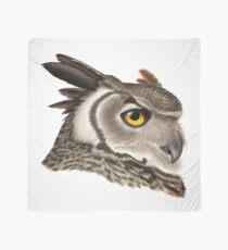 Great Horned Owl Scarf