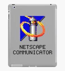 NETSCAPE COMMUNICATOR - WIN95 ICON iPad Case/Skin