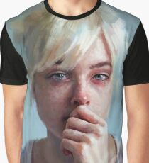 crying portrait Graphic T-Shirt