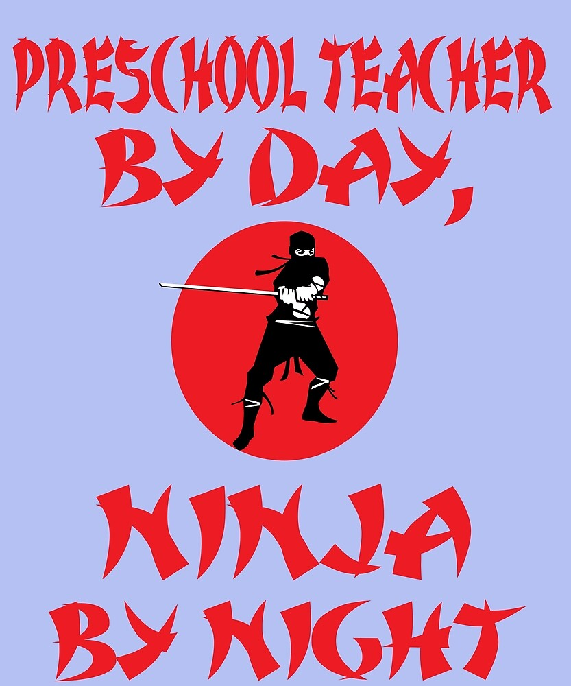 Preschool Teacher Day Ninja Night by AlwaysAwesome