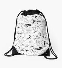Merthur Pattern_Merlin Drawstring Bag