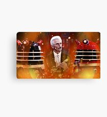 Doctor Who Dalek Movies Canvas Print