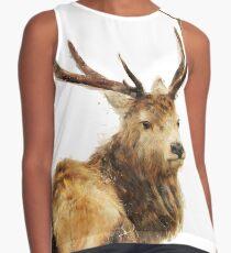 Winter Red Deer Sleeveless Top