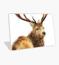 Winter Red Deer Laptop Skin