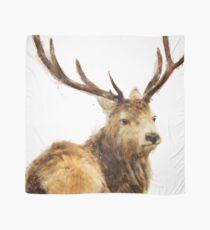 Winter Red Deer Scarf