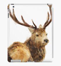 Winter Red Deer iPad Case/Skin