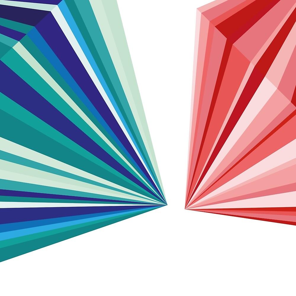 Colorful geometric Pattern by PrettyDesign