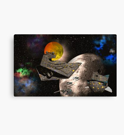 1st Dimension - Battle Group Delta Canvas Print