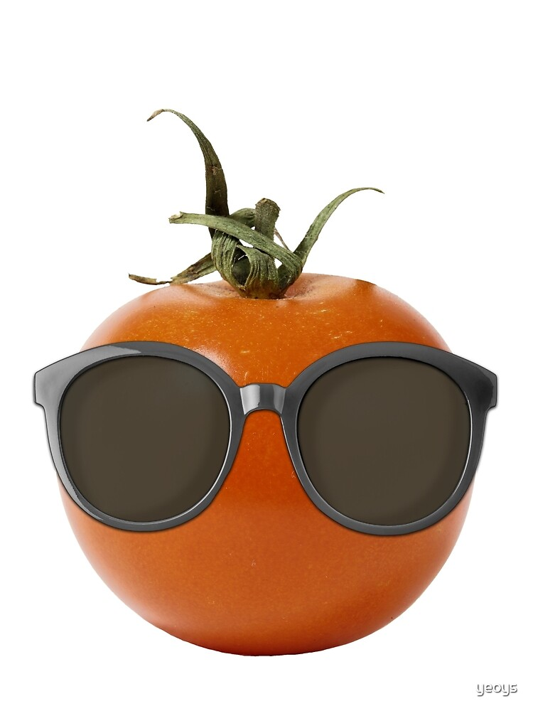 Tomato Gifts > Funny Tomato Wearing Sunglasses > Tomato by yeoys