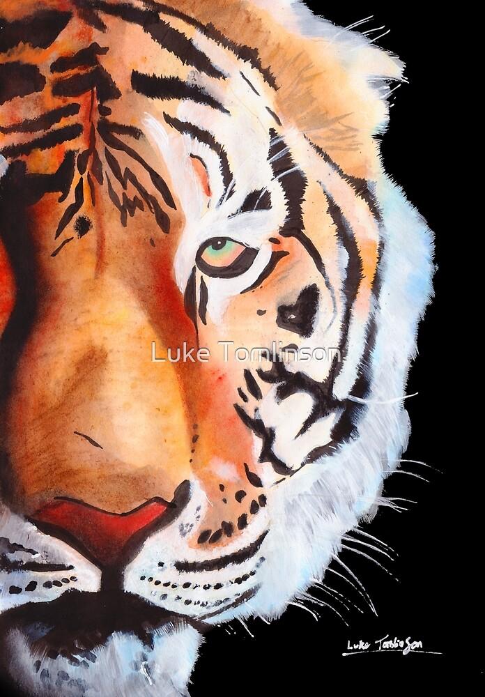 Tiger Face by Luke Tomlinson