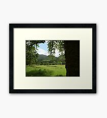 Glennfinnan Viaduct from a Distance Framed Print